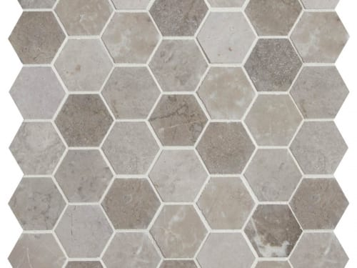 PA – Poitiers Marble Honed Hexagon 5