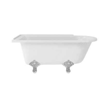 Hampton  left-handed showering bath 1