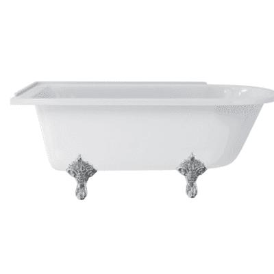 Hampton 170 cm left-handed showering bath 13