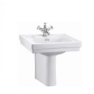 Contemporary basin and semi pedestal 5