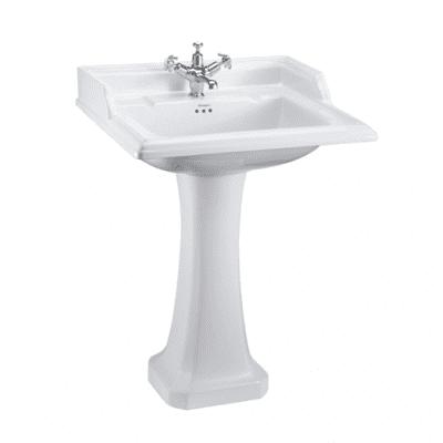 Classic 65cm basin and classic pedestal 13